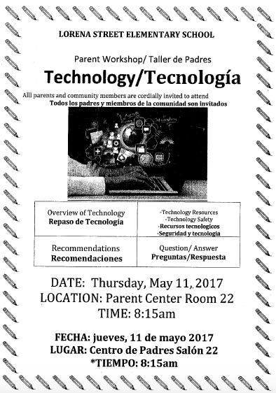 Technology Parent Workshop